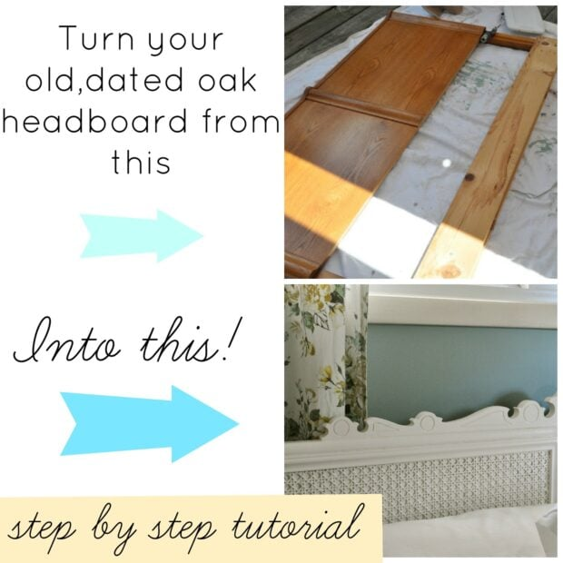 Headboard with caning tuttorial