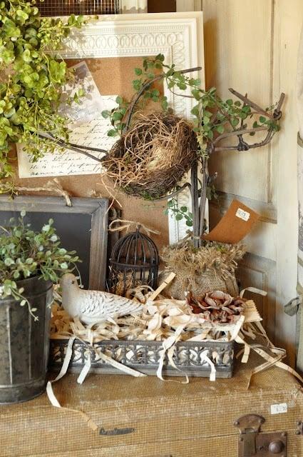 Cute nest merhcandising idea
