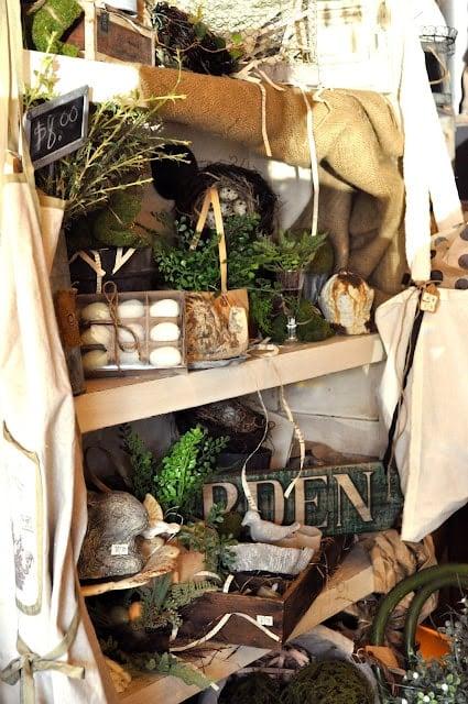 Sweet spring store display