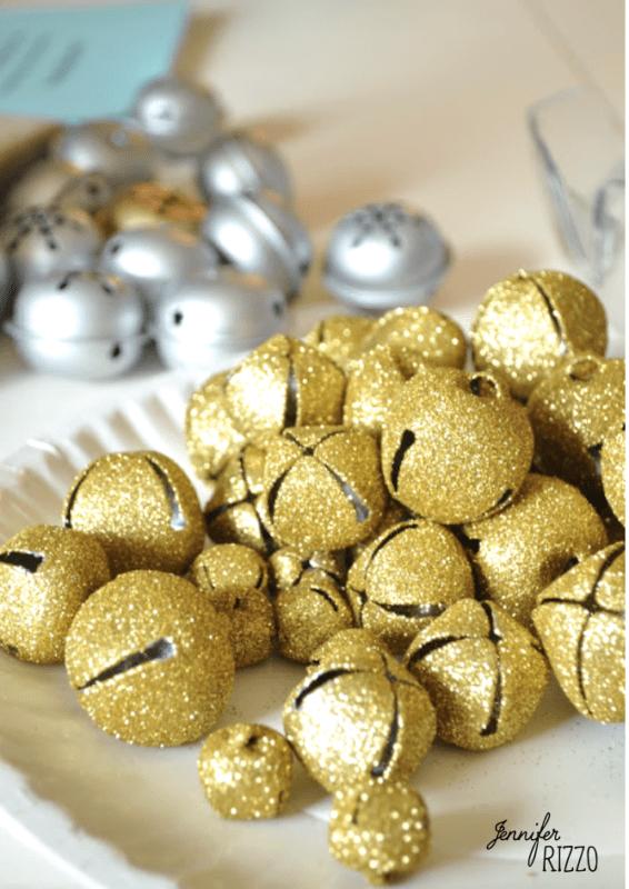 Glitter jingle bells Jennifer