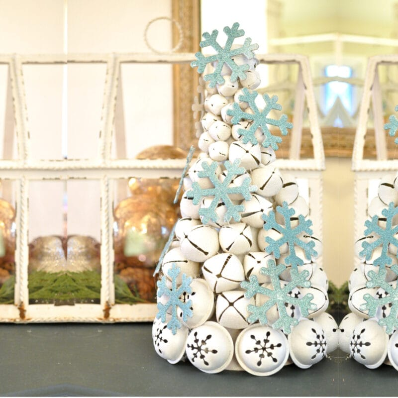 Jingle Bell tree DIY craft