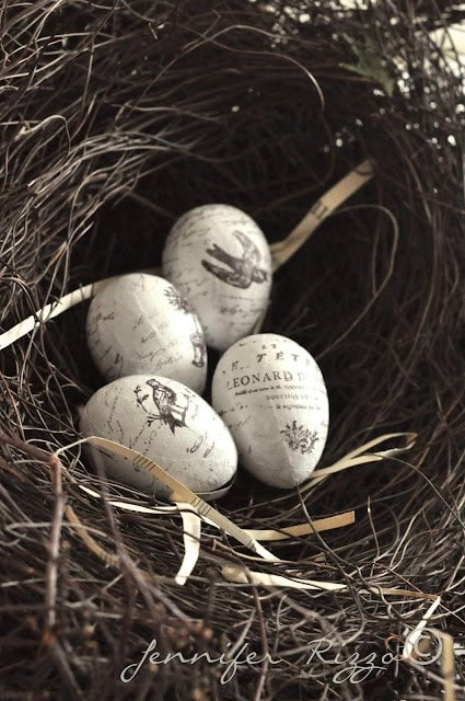 Eggs for spring decor