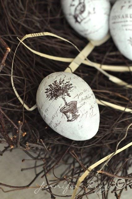 Pretty eggs for spring