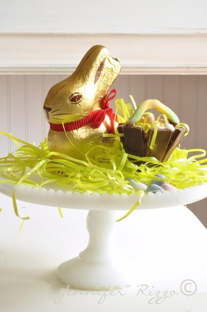 Easter Decor and chocolate basket project…..