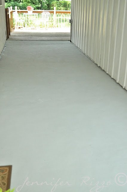 How to paint cold concrete