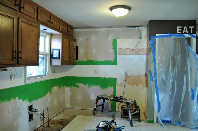 How to survive an unexpected remodel.