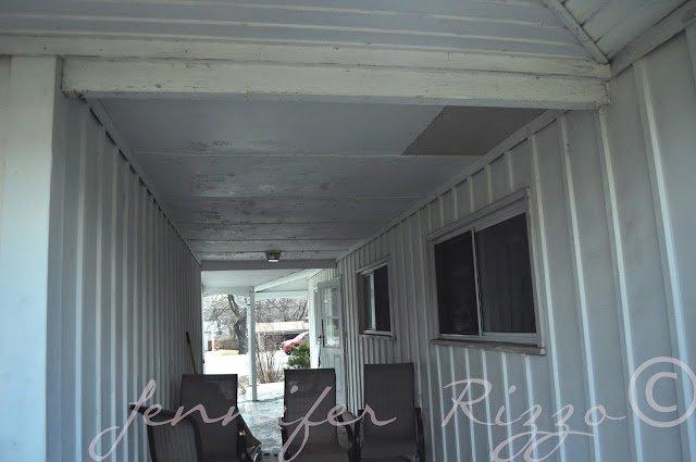 The Oak hose project porch transformation