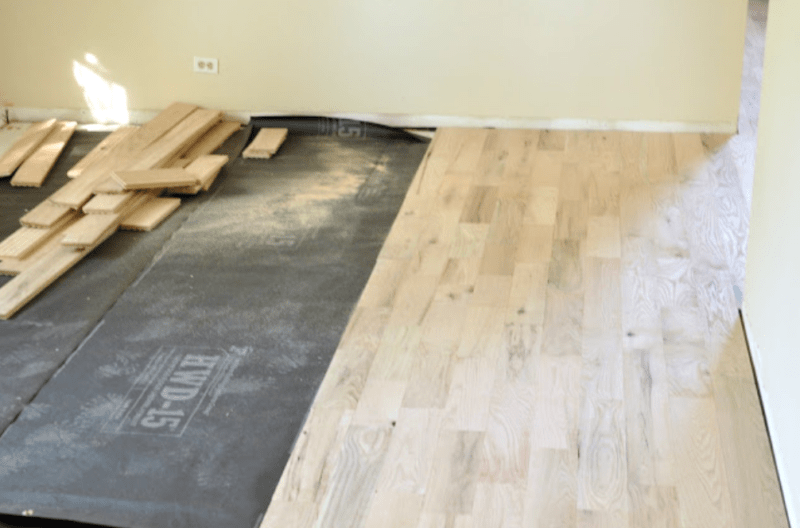 How to lay a wood floor