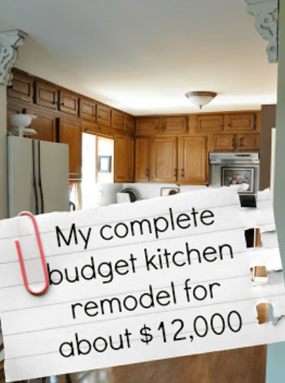 Our complete kitchen remodel on a budget for $12,000