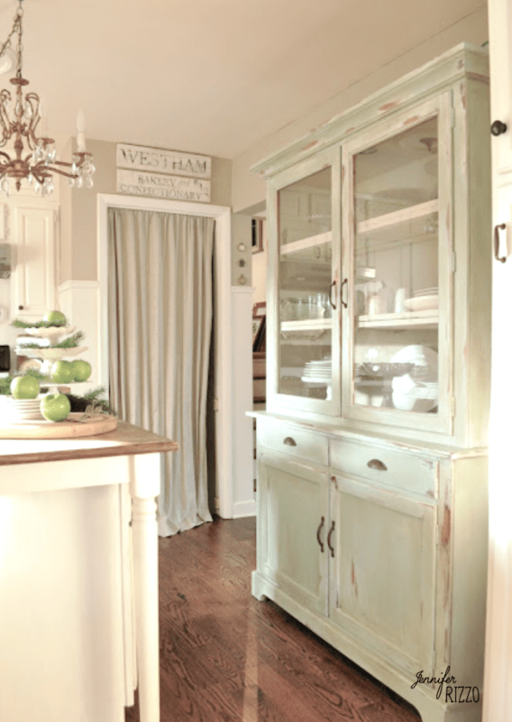 Using furniture in the kitchen