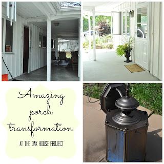 Amazing porch makeover