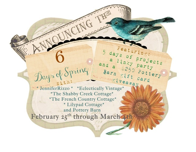 30 spring projects,6 blogs and lot's of Spring inspiration!!!!