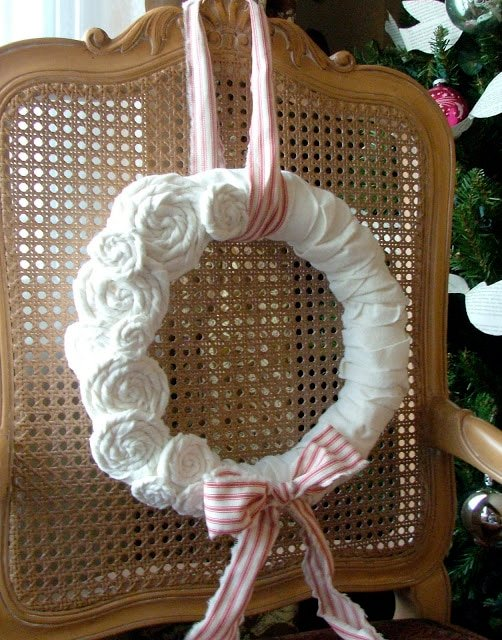 The crafts of Christmas past…