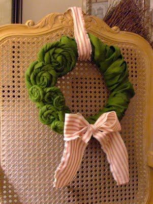 Make it! The Rosette wreath…
