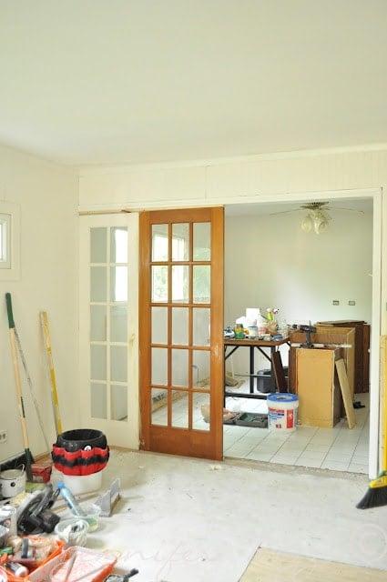 The Oak house project Jennifer rizzo before 6