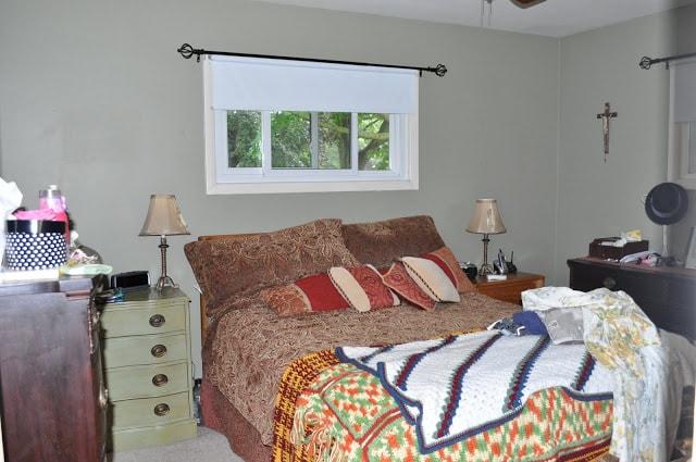 An oldie but goodie bedroom makeover…..