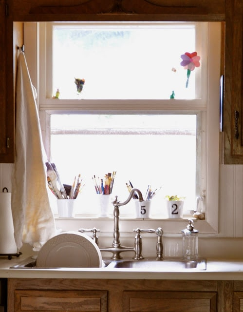 A sink full of serendipity….