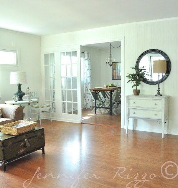 French door room dividers
