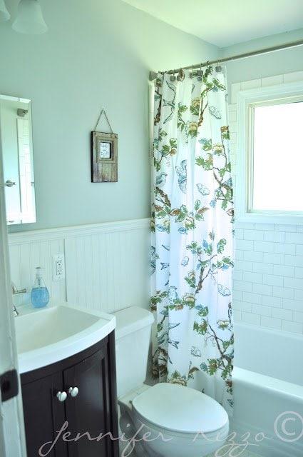 $1300 budget bathroom update.
