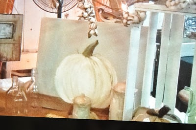 You Can Paint a Pumpkin Canvas, Art Skills Not Required!!! Step by Step Instructions!!!….