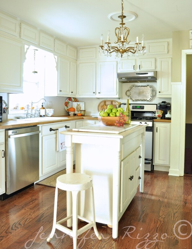 Jennifer Rizzo's kitchen in Fall