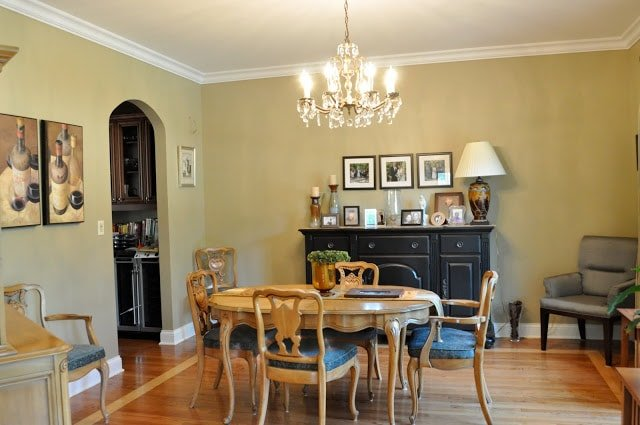Dining room and Living room interior redesign…