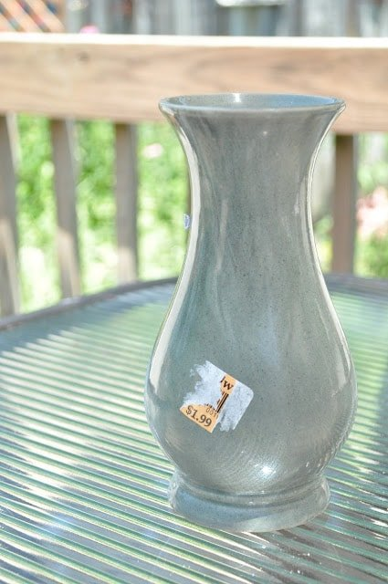 Super-cute Goodwill vase make-over…