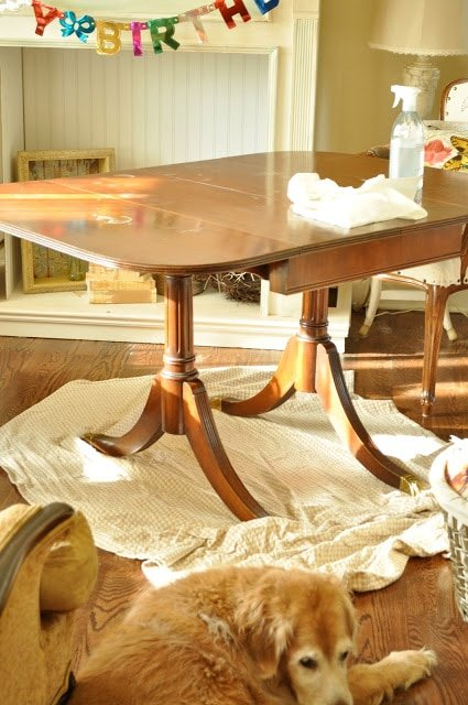 New to me table…