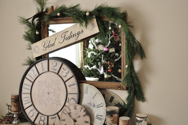 Christmas touches for my home…