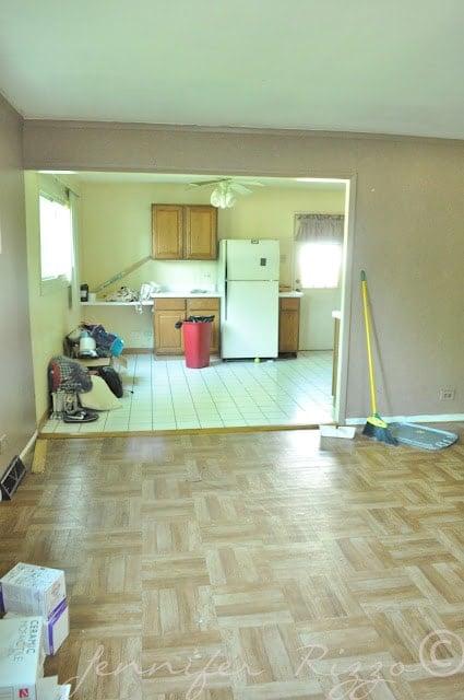 The Oak house project Jennifer rizzo before 3