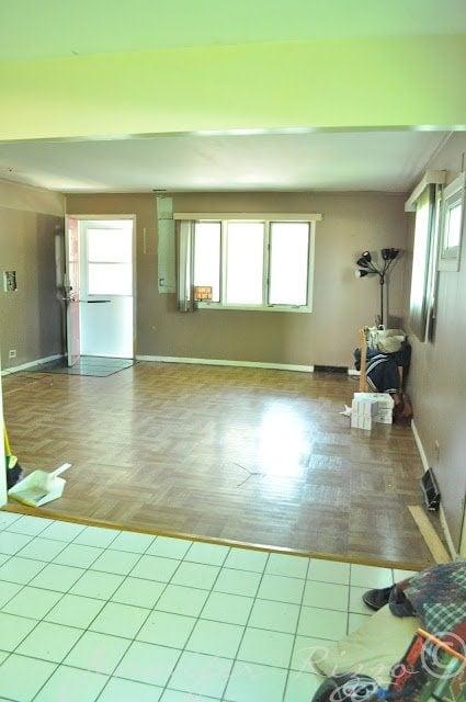 The Oak house project Jennifer rizzo before 4