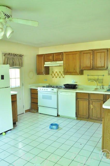 The Oak house kitchen makeover at Jenniferrizzo.com