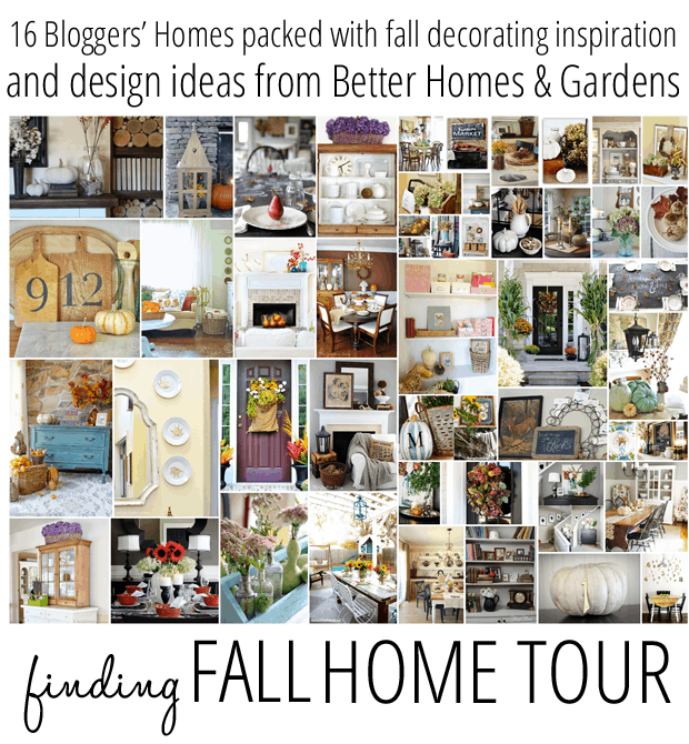 A few busy weeks, three great home tours, lots of Fall inspiration….!