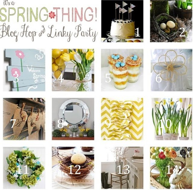 It's a Spring thing blog hop and linky party!!!