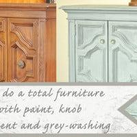 How to graywash furniture