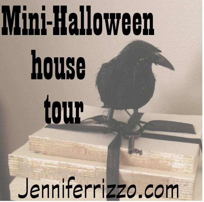 Spooky Halloween mantel…..Show your spooky decor….