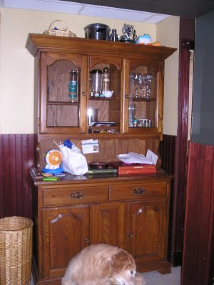 Lightness and brightness…Sub-level make-over part one and updated hutch