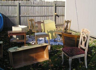Furniture make-over Monday