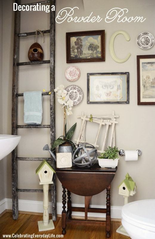 How To Decorate A Powder Room Stunning Decorating A Powder Room. Jennifer Rizzo Review