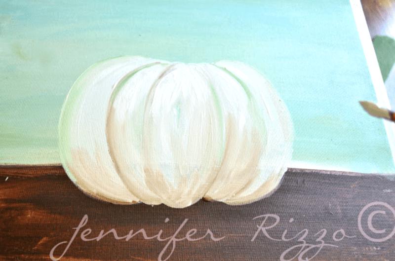 Step in painting. apumpkin