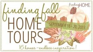Fall home decor and home tours