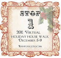 Welcome to the virtual holiday house walk!