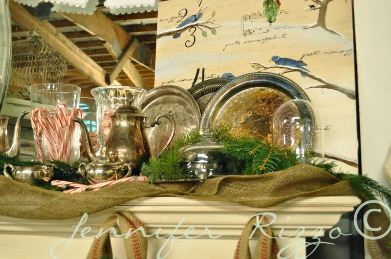 gather silver and display together