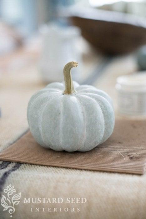 Miss mustard seed milk paint pumpkins