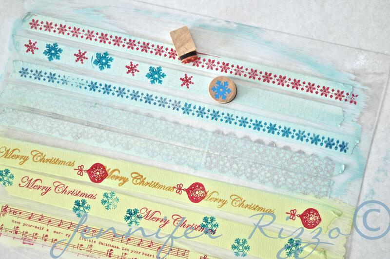 How to make your own custom DIY washi tape…..