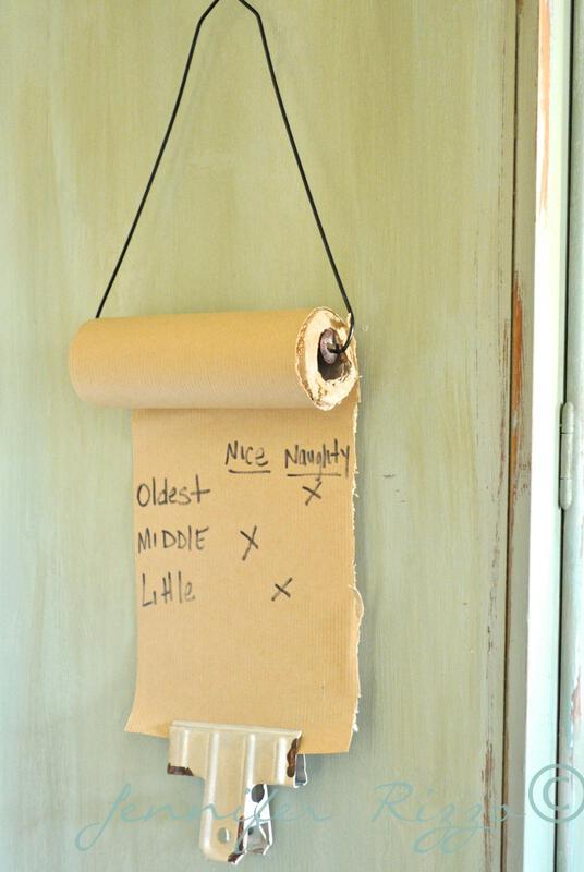 Make a mini craft paper roll dispenser….