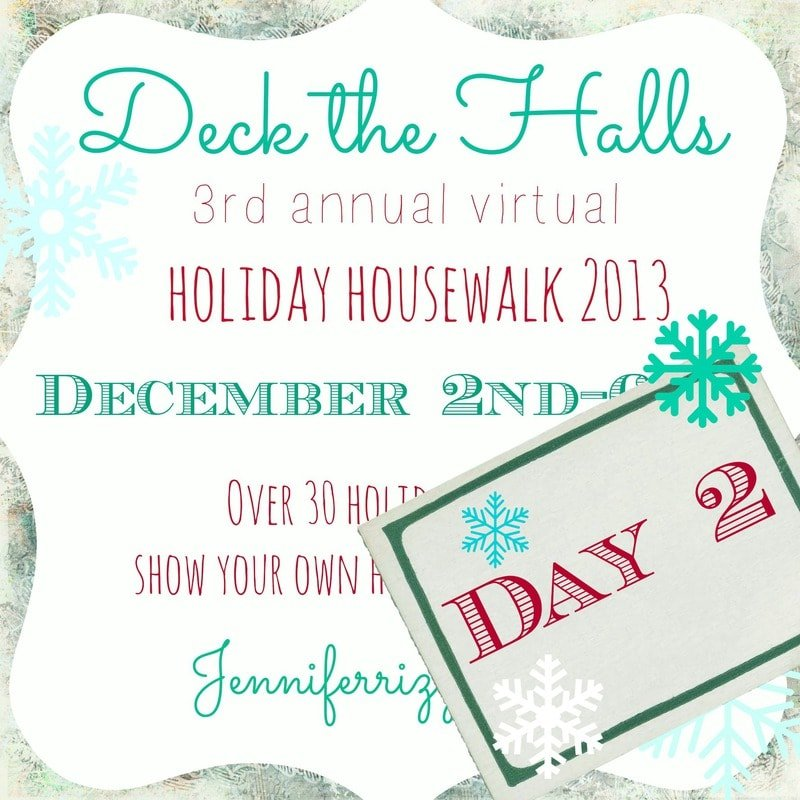 Holiday house walk day 2….More beautiful holiday homes and decorating…!!!