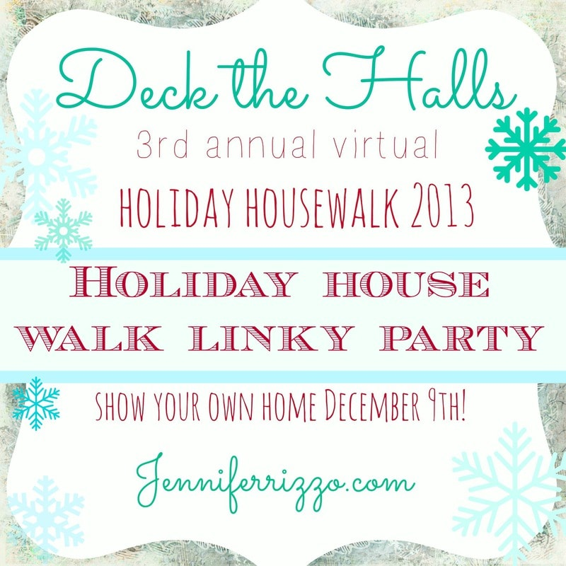 Show us your holiday home linky party!!!!