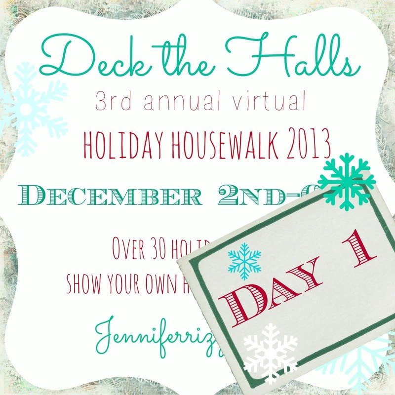 Welcome to the 2013 Holiday Housewalk!!!!!! Day 1…
