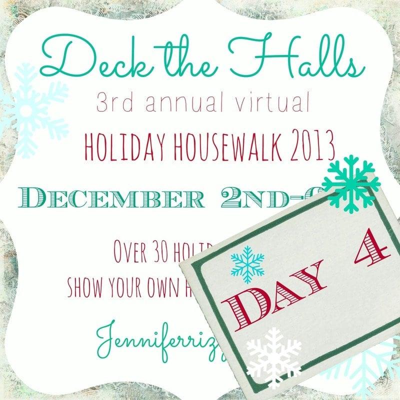 More holiday decorating! Holiday Housewalk Day 4…!!!